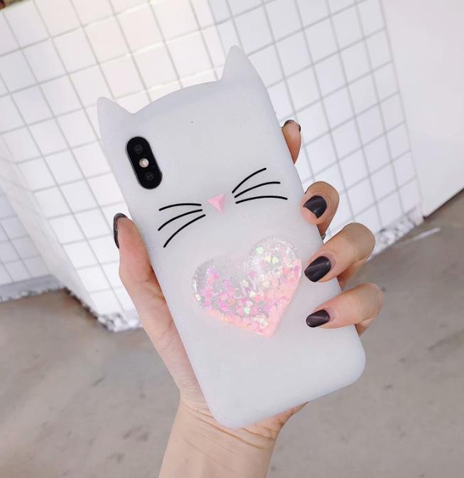 공장직배송 고양이 실리콘 핸드폰케이스입니다 제품314091