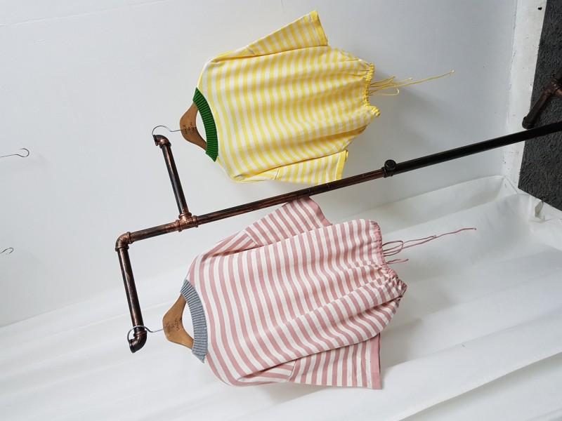 [완사입/파샬] 밑단 쪼임 여름 니트 2컬러 - 17장 3000원 