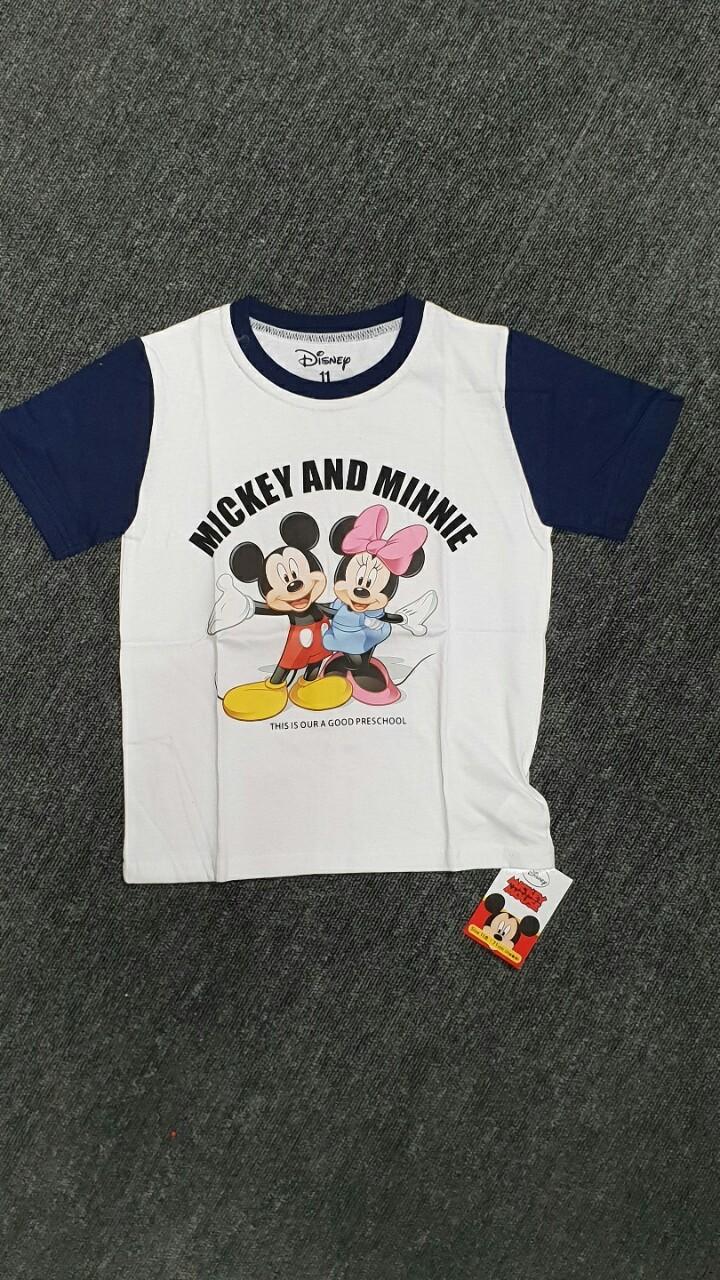 국산  정품 미키  마우스 아동 티셔츠   정리 합니다.