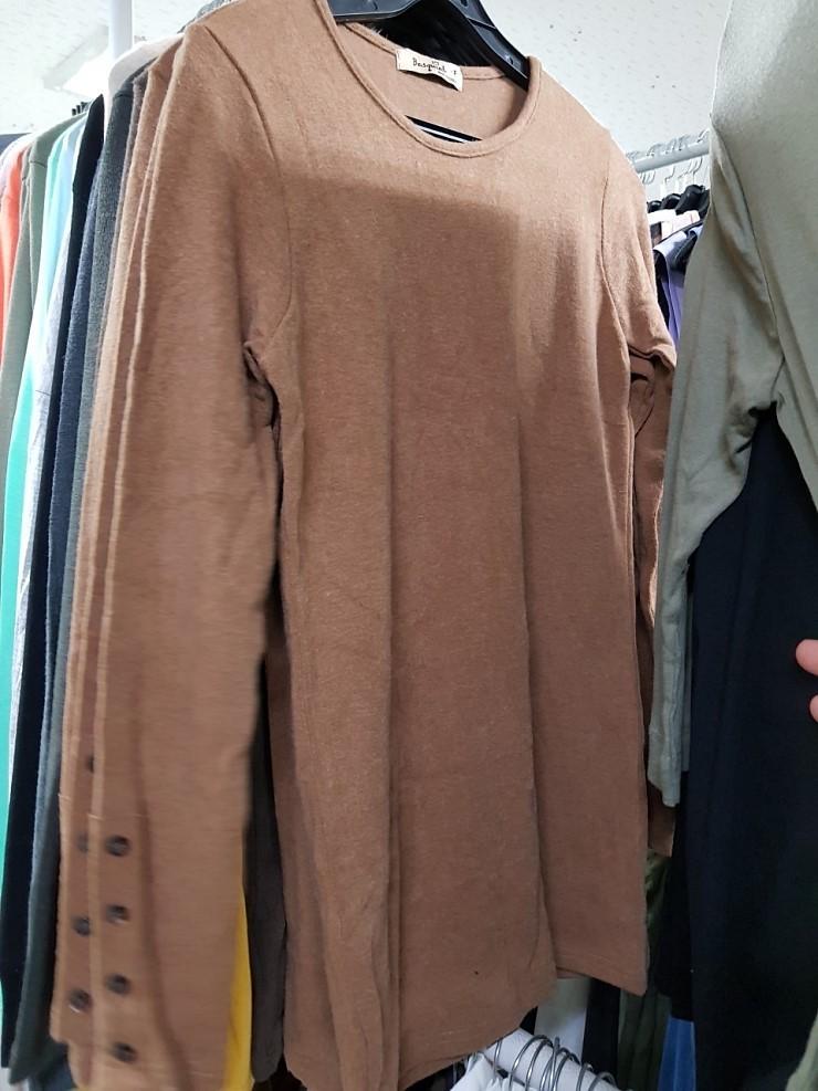 zz1063 간절기 여성 무지 티셔츠 50장이상 장당 1,000원
