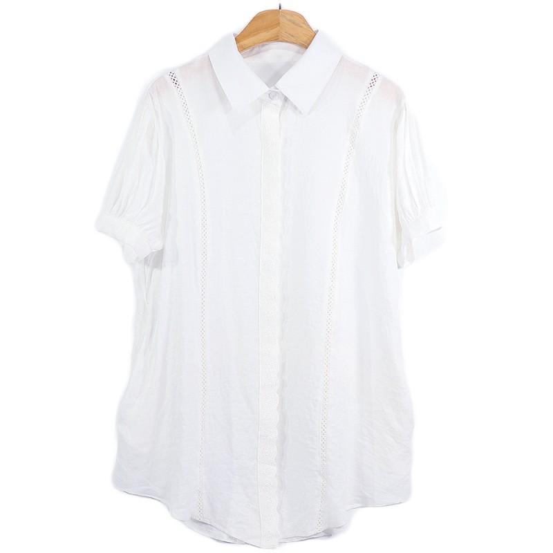 (도매야)엔조이 아사면 롱셔츠
