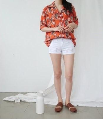 [완사입/파샬] 꽃 남방 2컬러 -14장 3000원