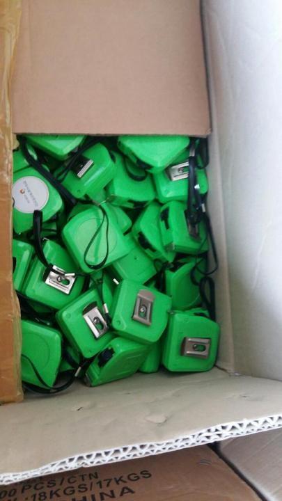 줄자(초록)