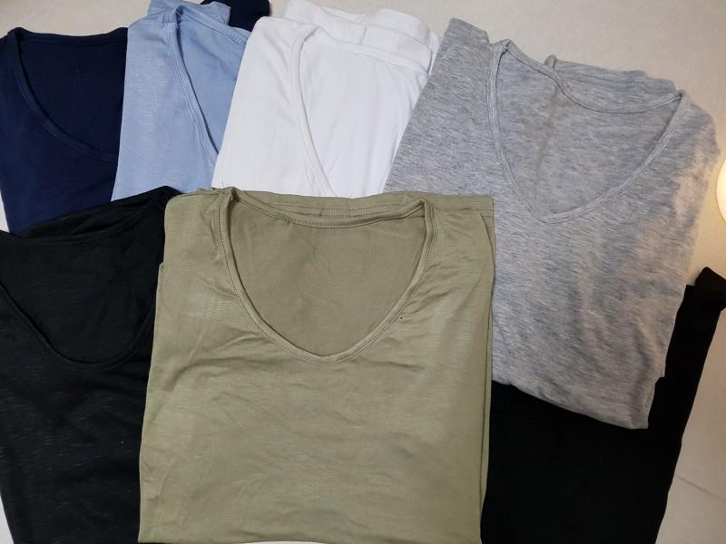 여름 티셔츠 여러가지