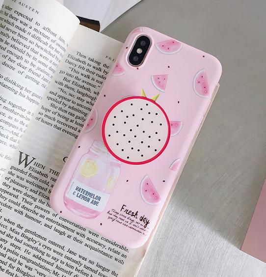 공장직배송 그립톡일체형 핸드폰케이스입니다 제품2-01509