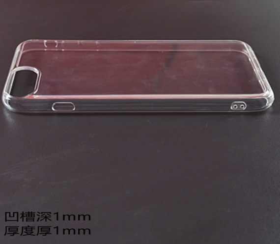 공장직배송 단차깊이1mm 두께1mm 단차 tpu젤리 핸드폰케이스입니다 제품02509