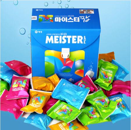 애경 신개념 발포세제 마이스터 팝