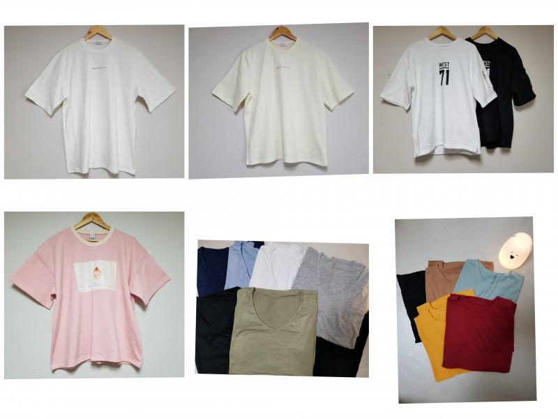 여름기본티셔츠(여러가지)