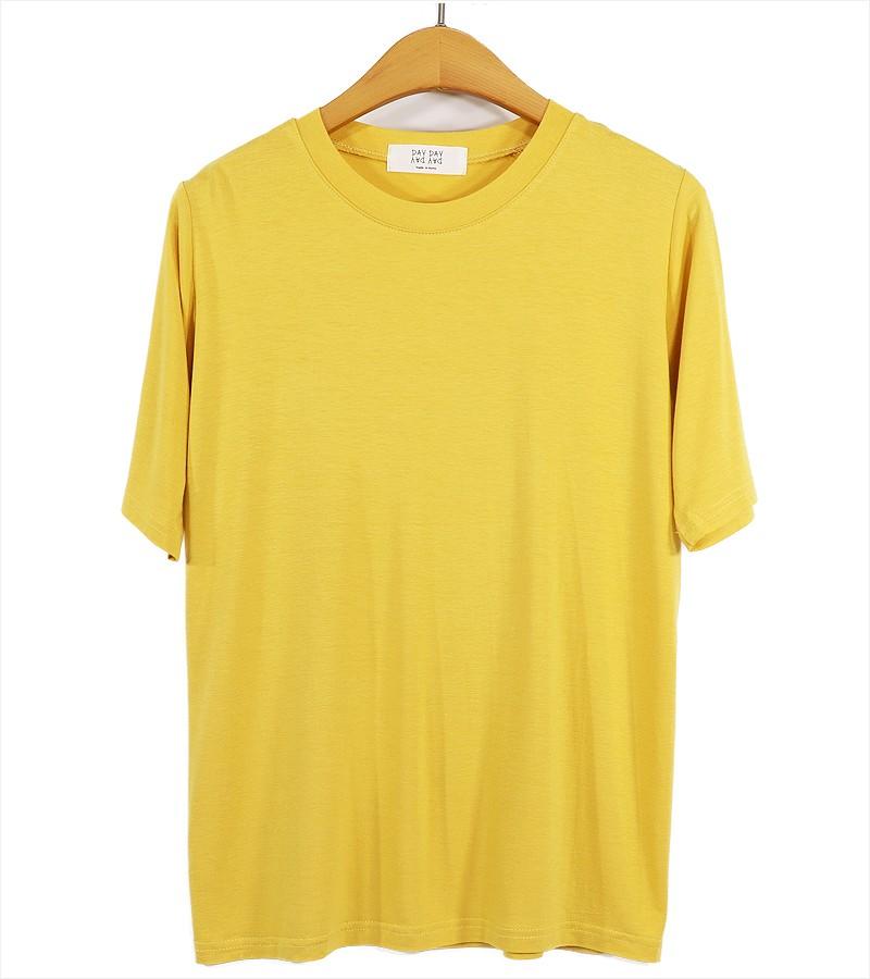 (도매야)심쿵 라운드 티셔츠
