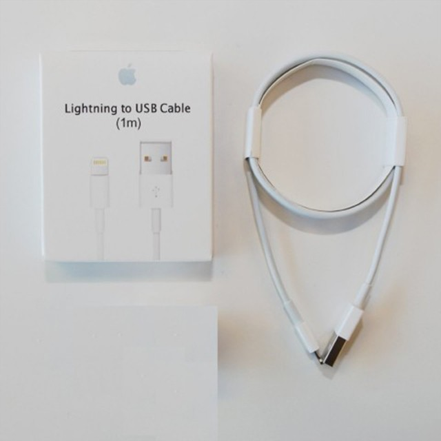 애플 아이폰 충전 케이블 정품 박스포장 1m