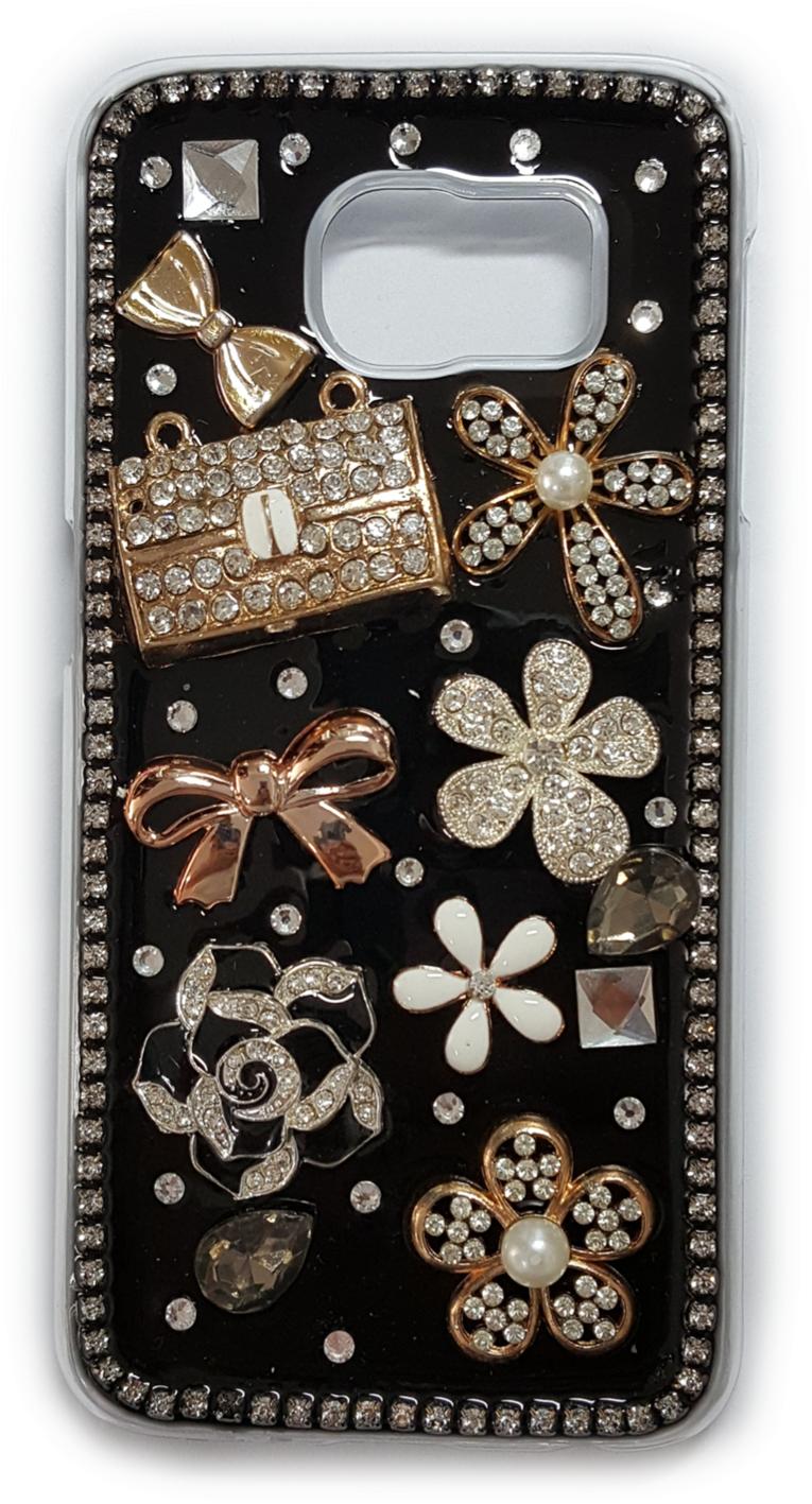 공장직배송 갤럭시S6 크리스탈에폭시보석 핸드폰케이스입니다 제품71808