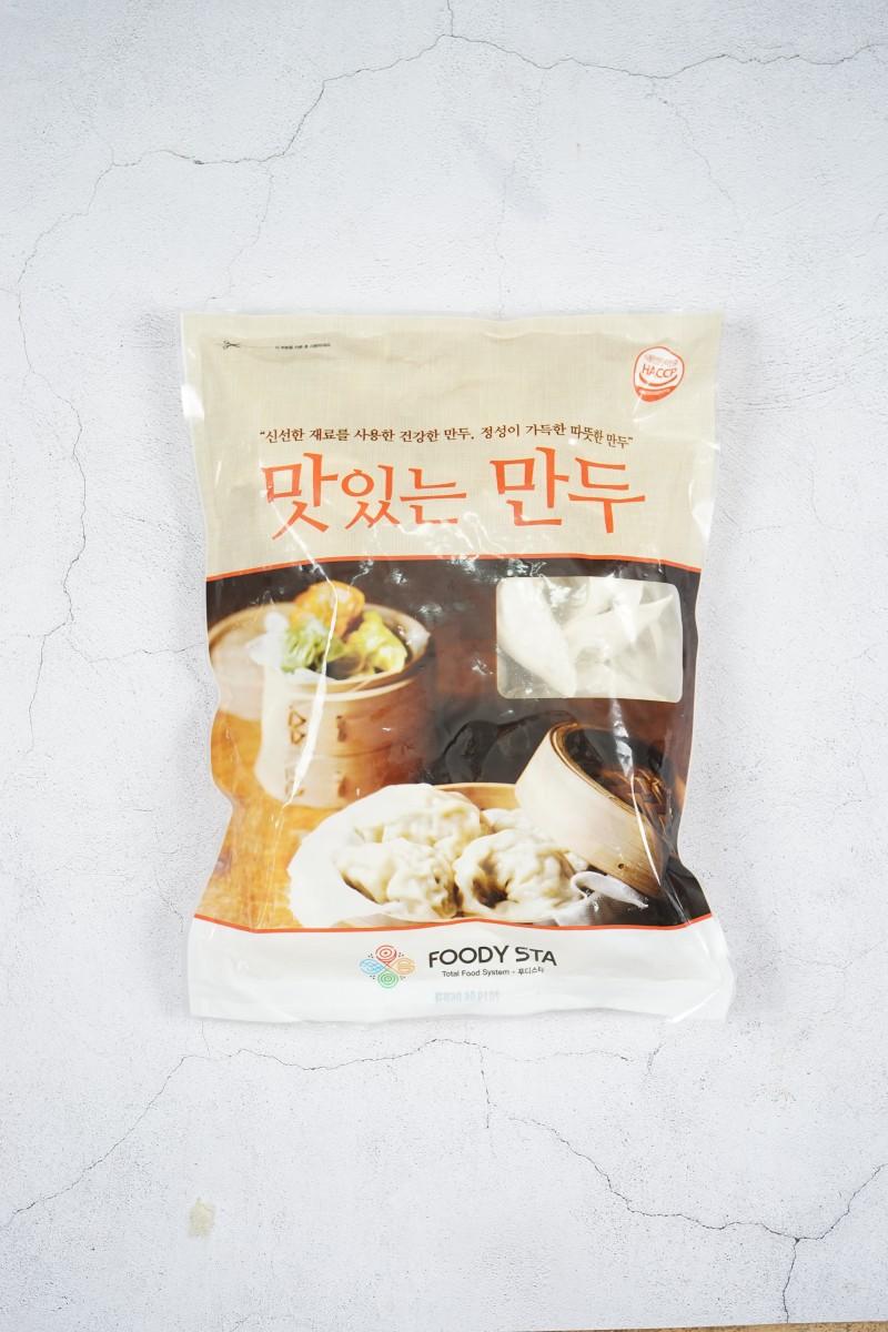 무항생제 돼지고기로 만든 왕만두 1kg*10봉지(1박스)