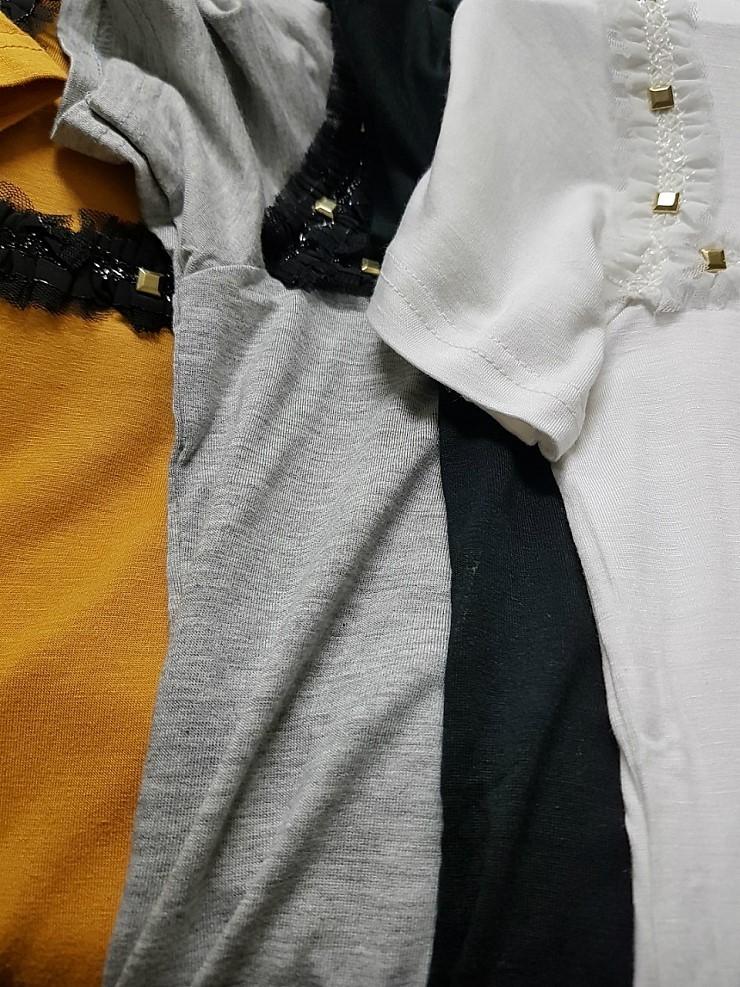 zz1031 징장식 티셔츠 50장이상 장당 1,200원
